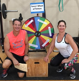 Chip and his lovely wife Trish have been active members of Rockport Fitness since 2007