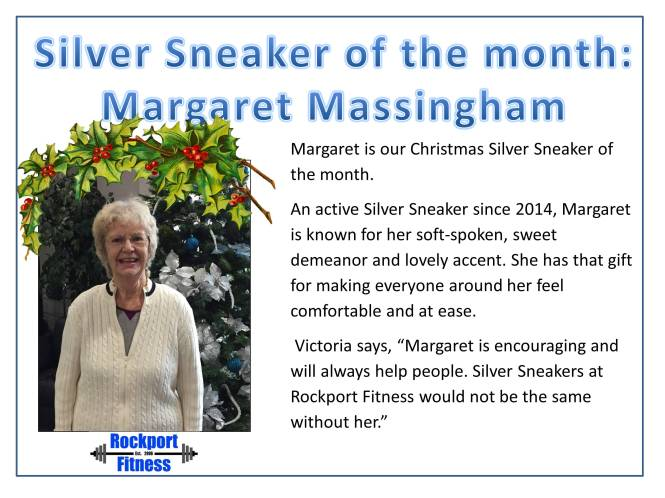 SS of the Month - Margaret